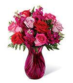 The Pure Romance Rose Bouquet